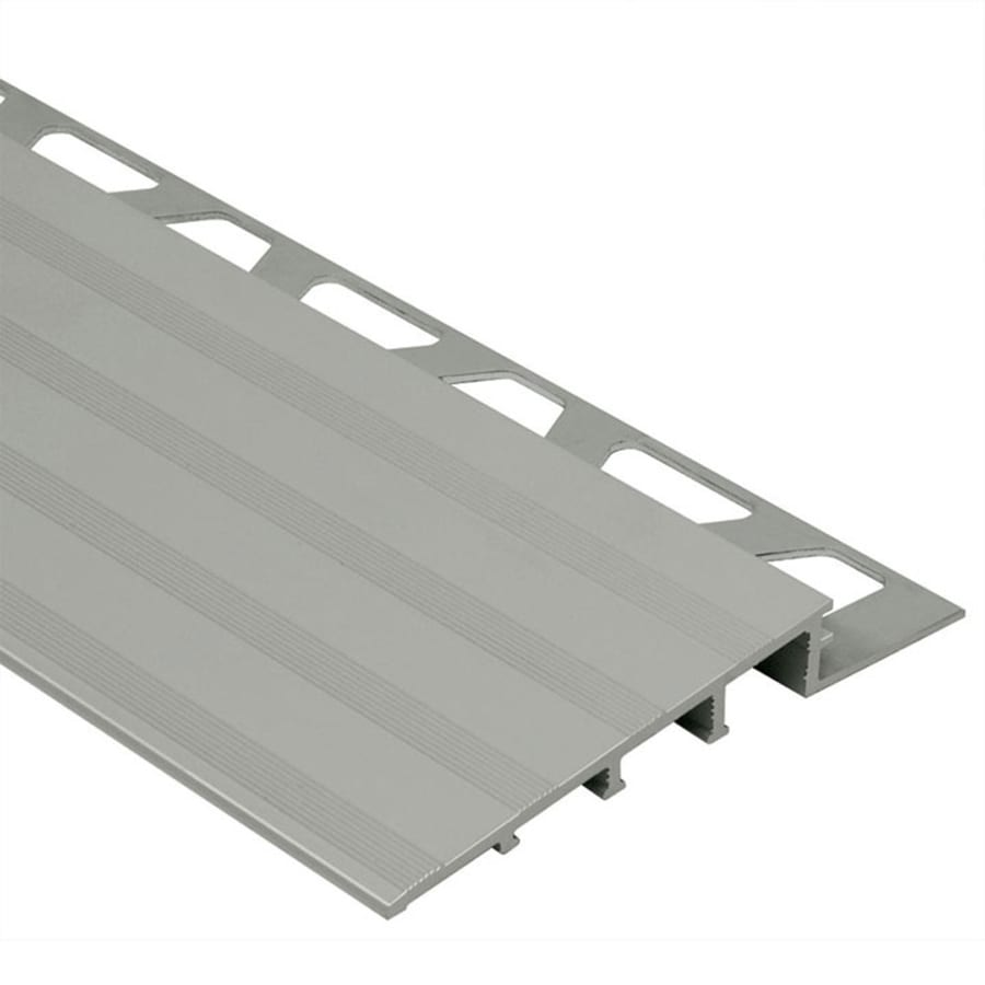 Schluter Systems Reno-Ramp 0.563-in W x 98.5-in L Aluminum Tile Edge Trim
