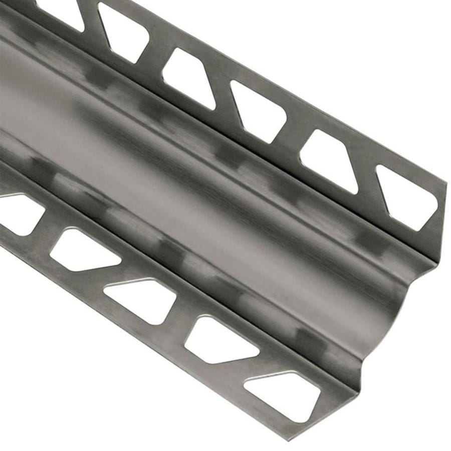 Schluter Systems Dilex-EHK 0.438-in W x 98.5-in L Steel Tile Edge Trim