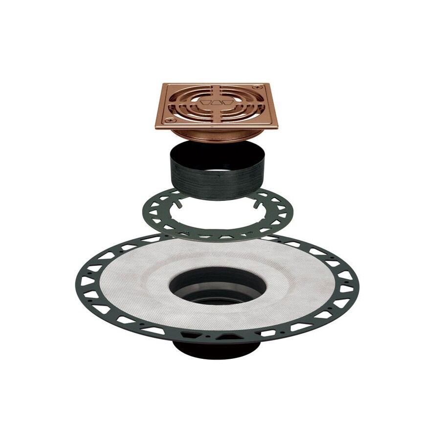 Schluter Systems Bronze ABS Shower Drain