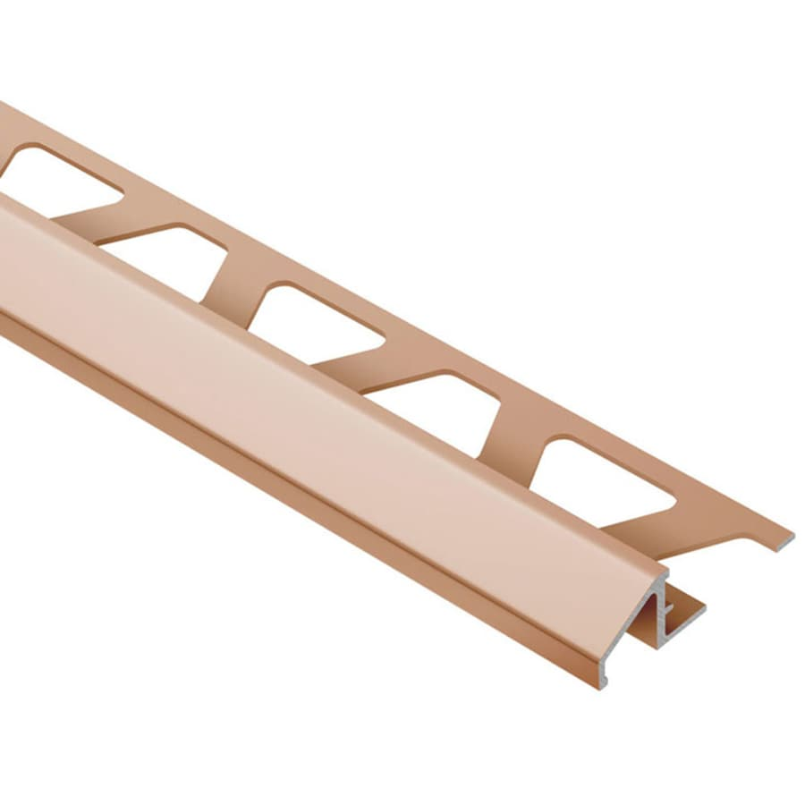 Schluter Systems Reno-U 0.313-in W x 98.5-in L Aluminum Tile Edge Trim