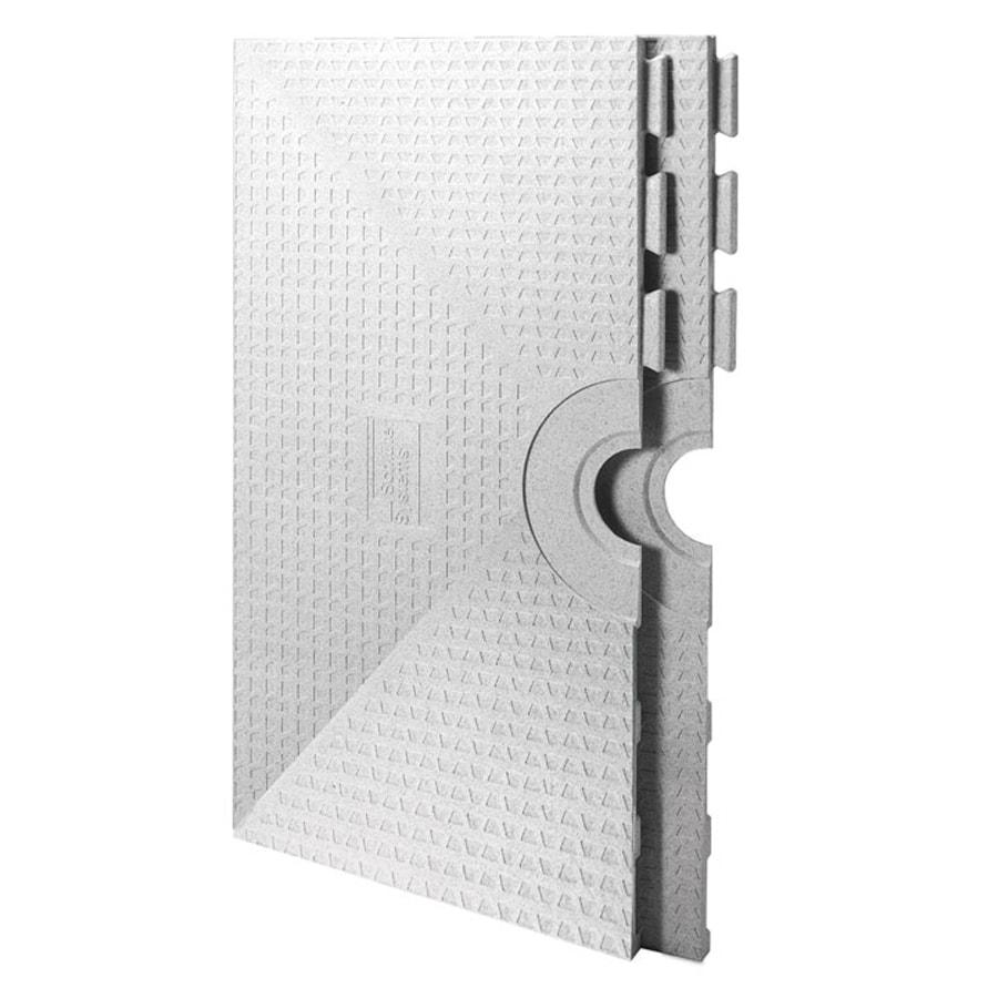 Schluter Systems Kerdi White Styrene Shower Tray