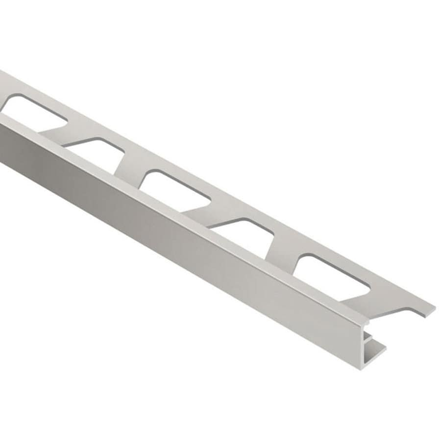 Schluter Systems Jolly 0 375 In W X 98 5 L Aluminum Tile Edge Trim