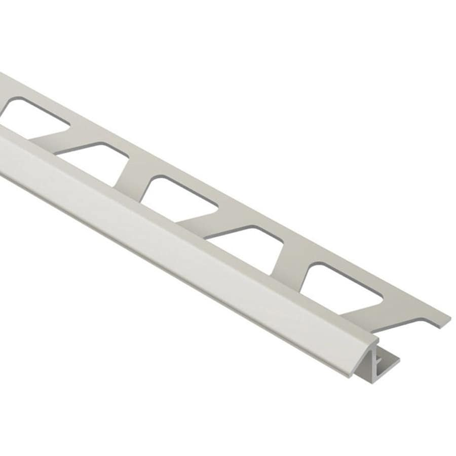 Schluter Systems Reno-TK 0.375-in W x 98.5-in L Aluminum Commercial/Residential Tile Edge Trim