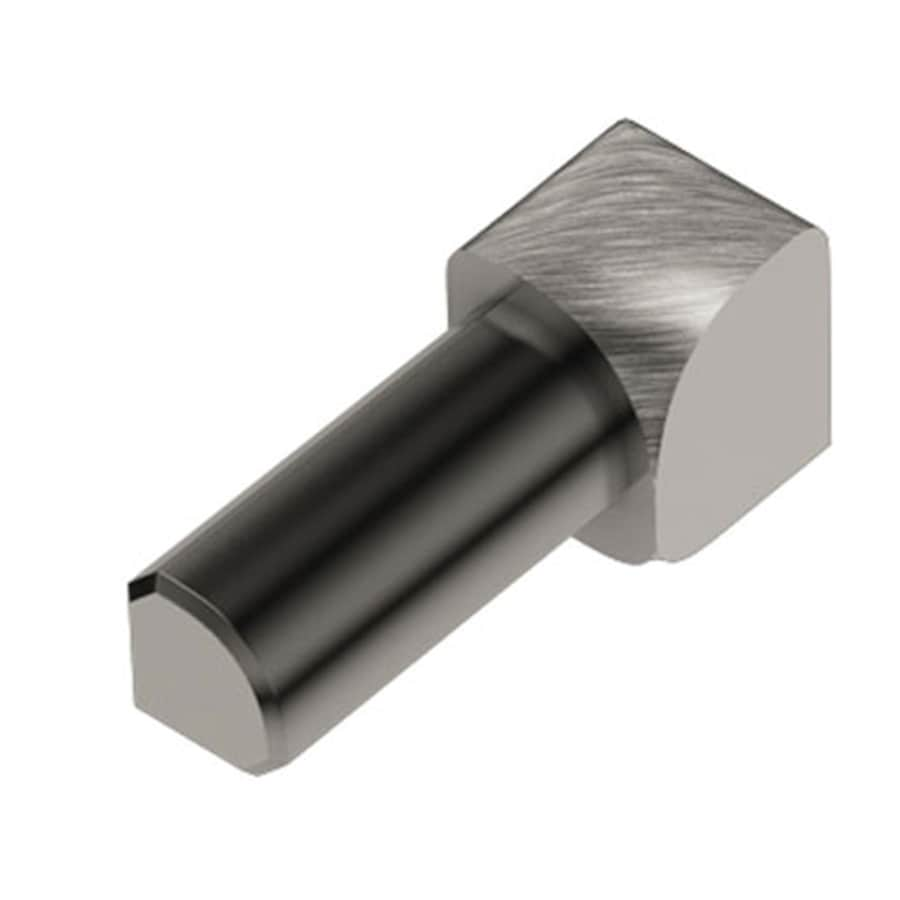 Schluter Systems Rondec 0.375-in W x 1-in L Aluminum Commercial/Residential Tile Edge Trim