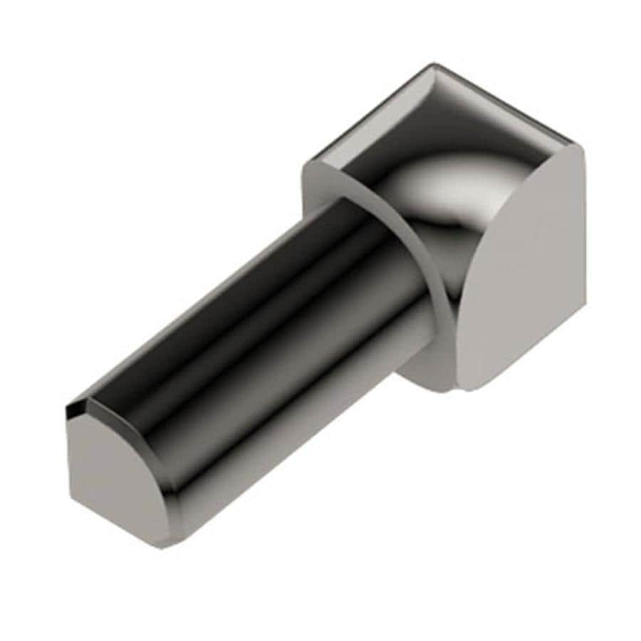 Schluter Systems Rondec 0.5-in W x 1-in L Aluminum Tile Edge Trim
