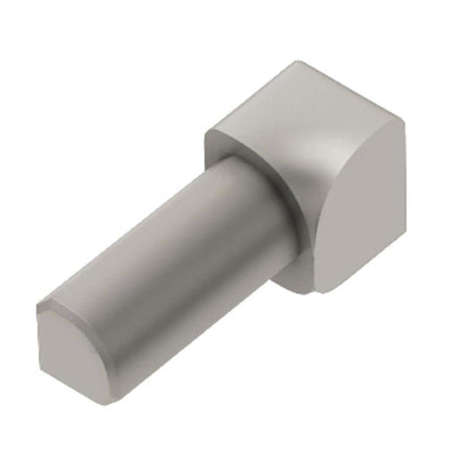 Schluter Systems Rondec 0.25-in W x 1-in L Aluminum Tile Edge Trim