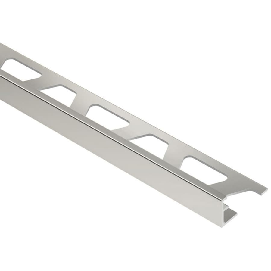 Schluter Systems Jolly 0.25-in W x 98.5-in L Aluminum Commercial/Residential Tile Edge Trim
