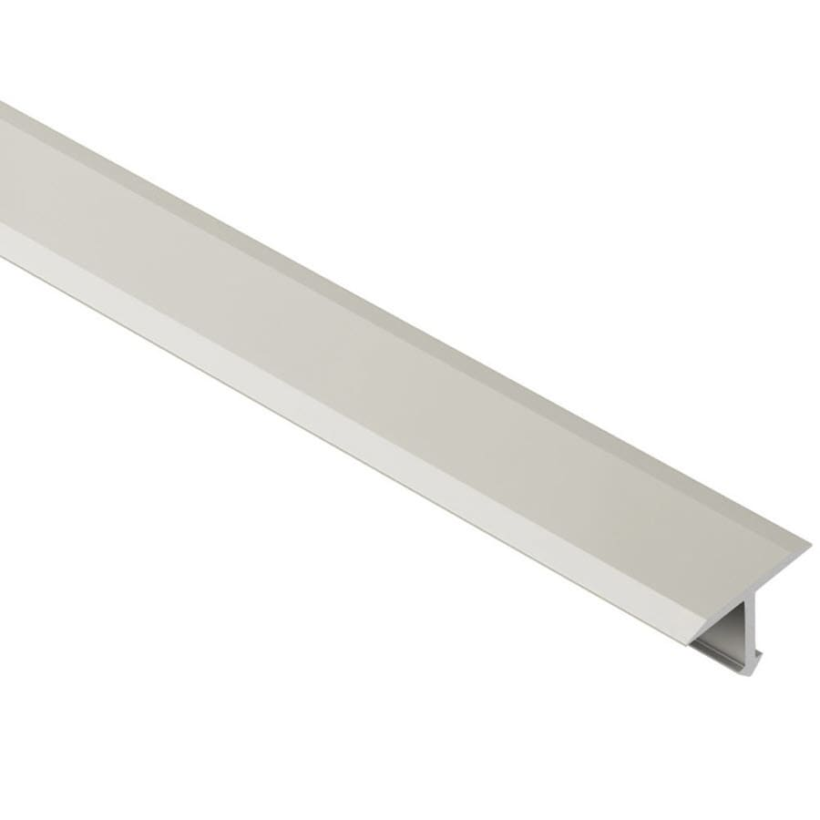 Schluter Systems Reno-T 0.344-in W x 98.5-in L Aluminum Tile Edge Trim