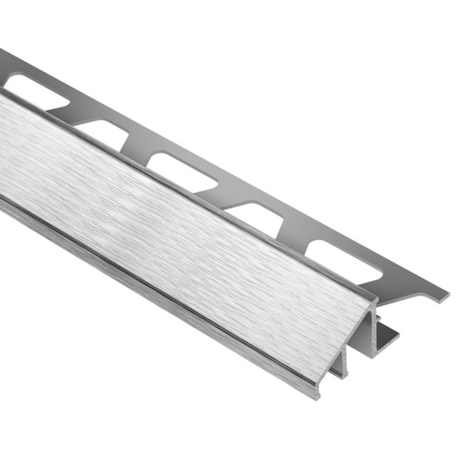 Schluter Systems Reno-U 0.5-in W x 98.5-in L Steel Tile Edge Trim