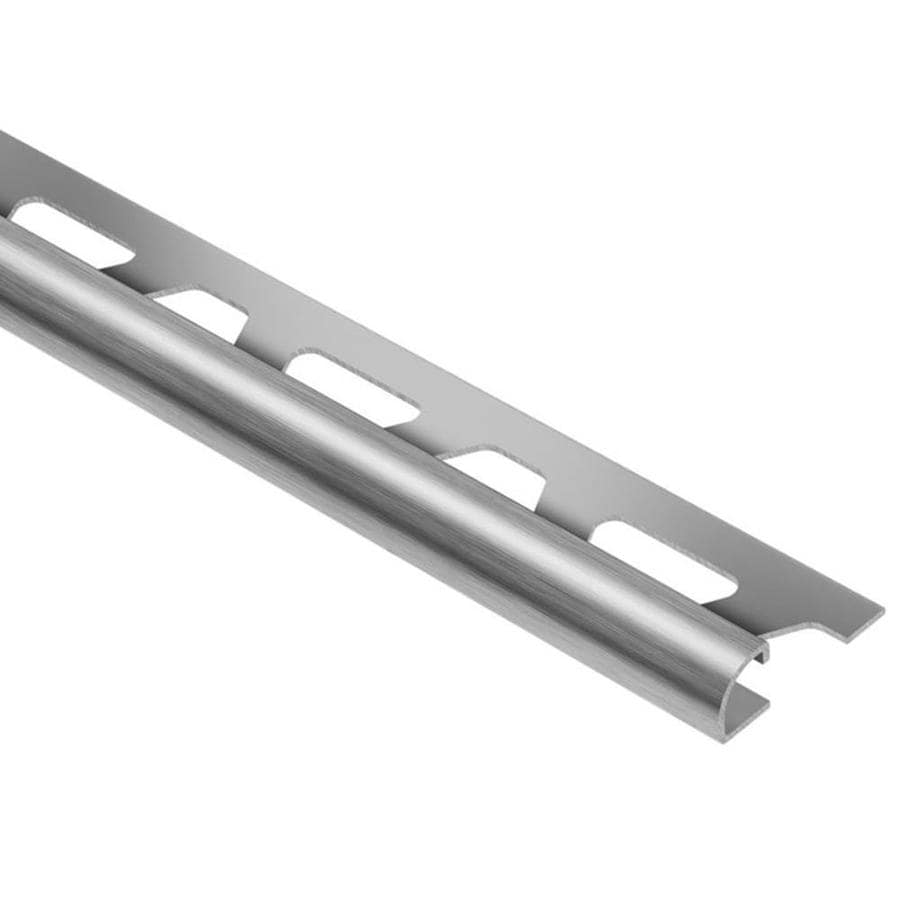 Schluter Systems Rondec 0.25-in W x 98.5-in L Steel Tile Edge Trim