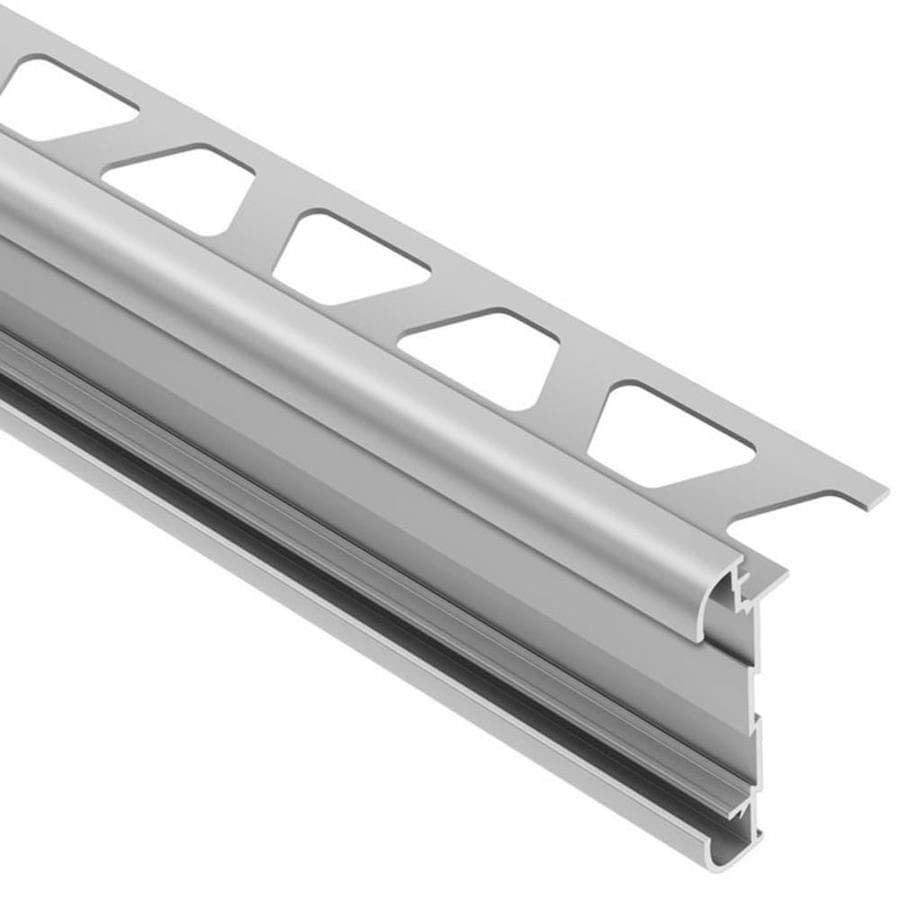 Schluter Systems Rondec-CT 0.313-in W x 98.5-in L Aluminum Tile Edge Trim