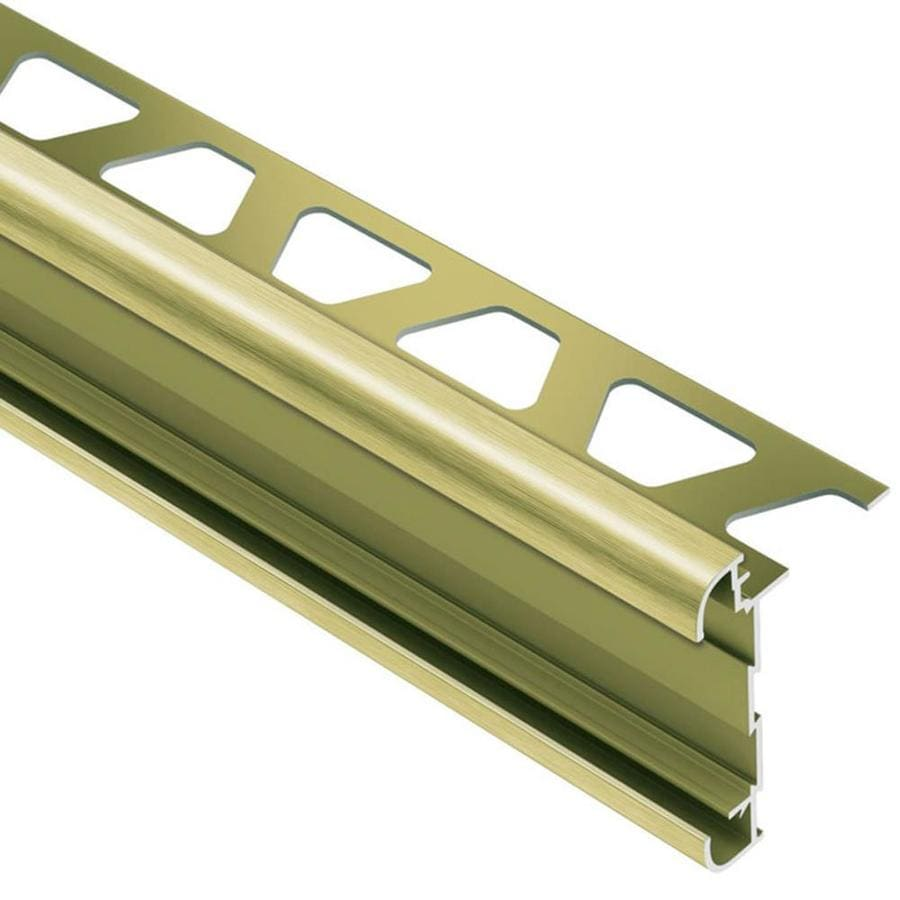Schluter Systems Rondec-CT 0.5-in W x 98.5-in L Aluminum Commercial/Residential Tile Edge Trim