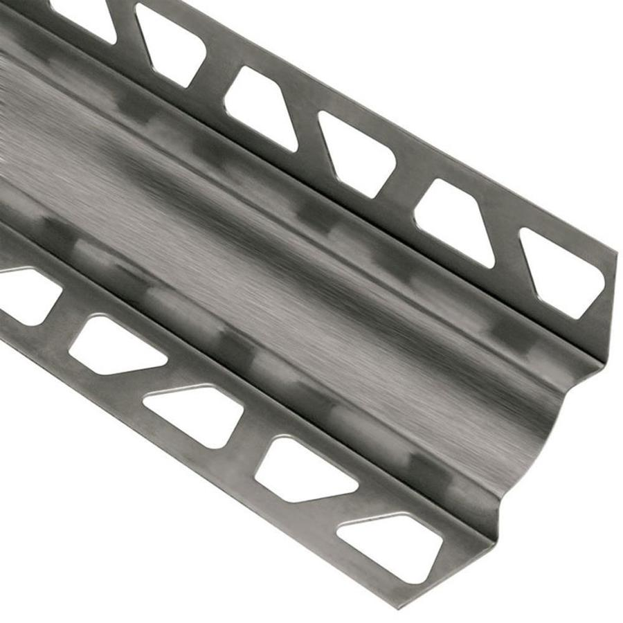 Schluter Systems Dilex-EHK 0.344-in W x 98.5-in L Steel Tile Edge Trim