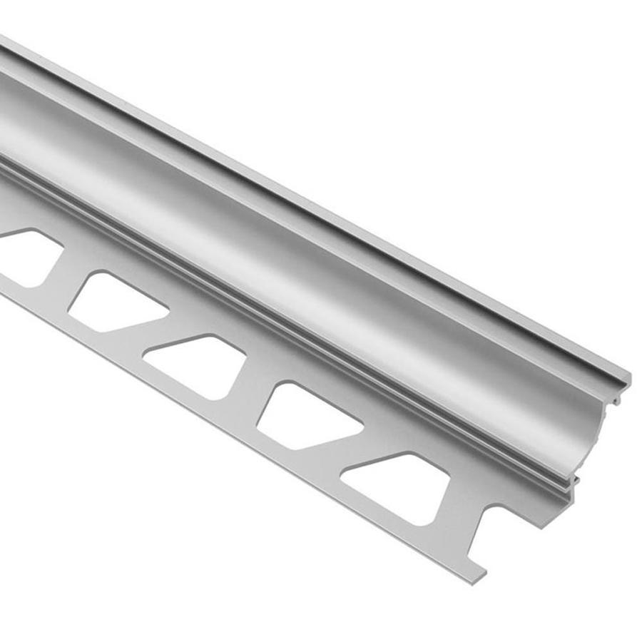 Schluter Systems Dilex-AHK 0.375-in W x 98.5-in L Aluminum Tile Edge Trim