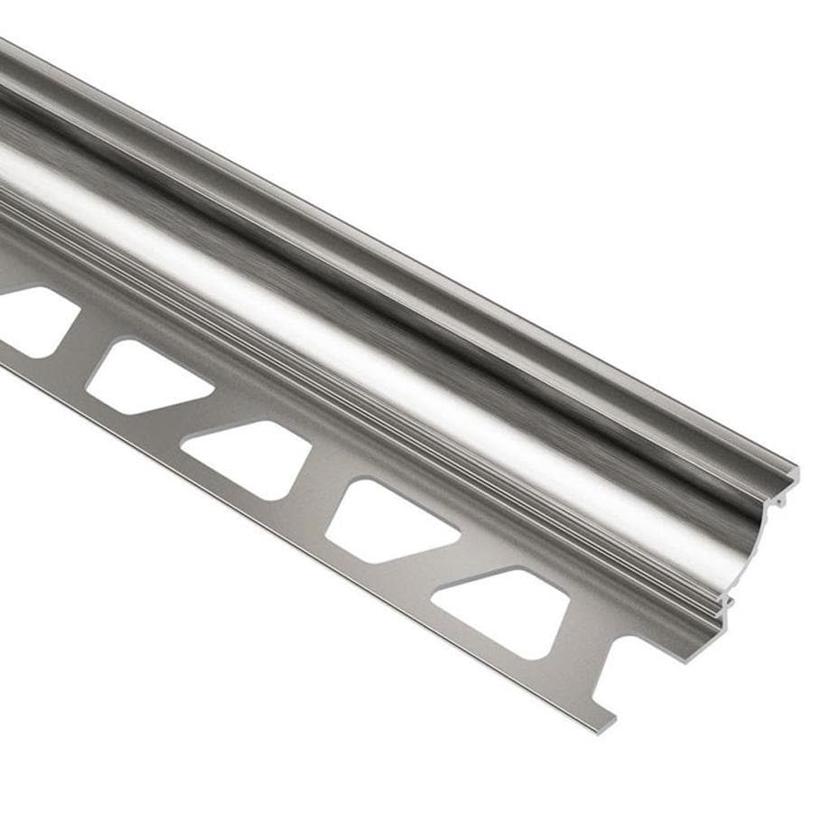 Schluter Systems Dilex-AHK 0.375-in W x 98.5-in L Aluminum Tile Edge Trim