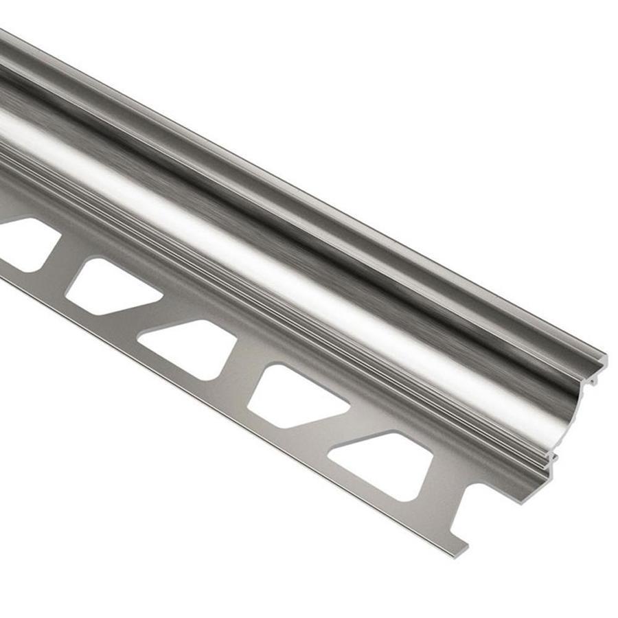 Schluter Systems Dilex-AHK 0.5-in W x 98.5-in L Aluminum Tile Edge Trim