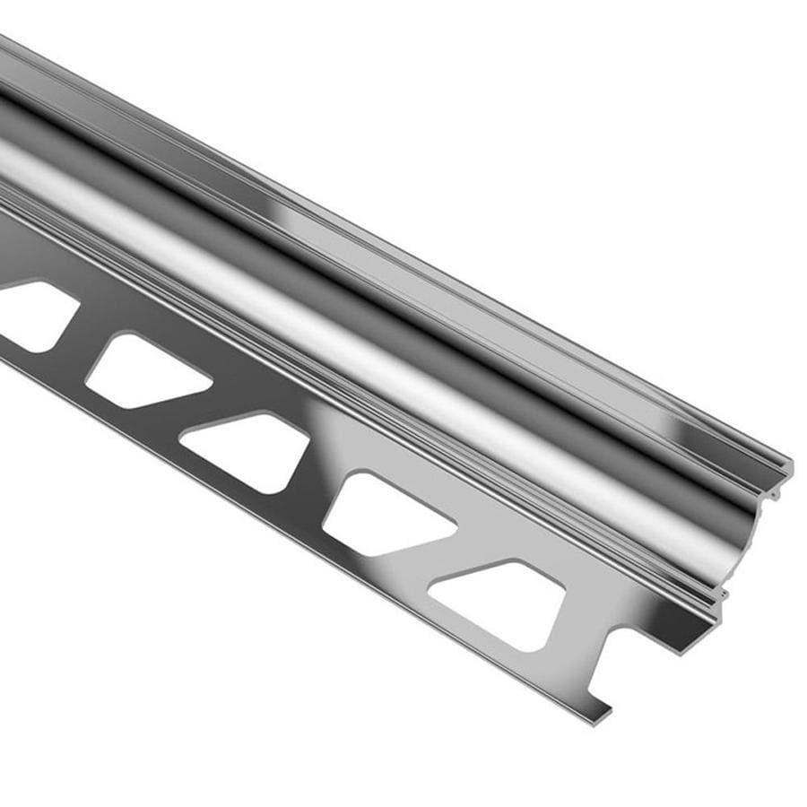 Schluter Systems Dilex-AHK 0.313-in W x 98.5-in L Aluminum Tile Edge Trim
