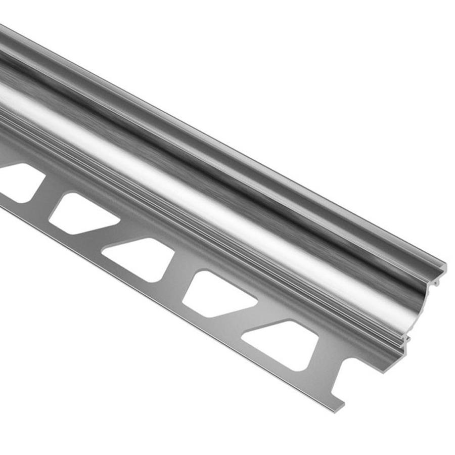 Schluter Systems Dilex-AHK 0.375-in W x 98.5-in L Aluminum Commercial/Residential Tile Edge Trim