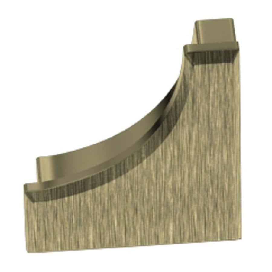 Schluter Systems Dilex-AHK 0.563-in W x 0.5-in L Aluminum Tile Edge Trim