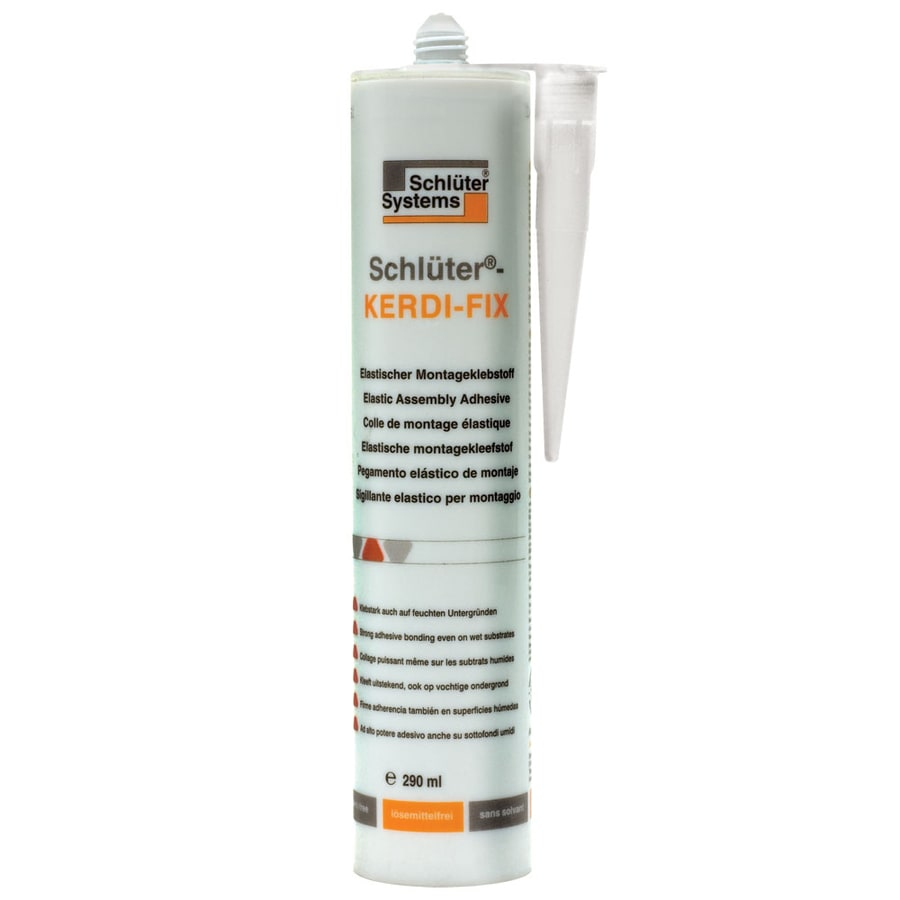 Schluter Systems Kerdi-Fix 9.81-fl oz White Indoor Floor Sealer Squeeze Bottle