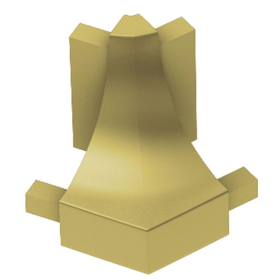 Schluter Systems Dilex-AHK 0.5-in W x 1-in L Aluminum Tile Edge Trim