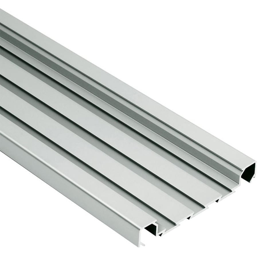 Schluter Systems Quadec-FS 0.313-in W x 98.5-in L Aluminum Tile Edge Trim