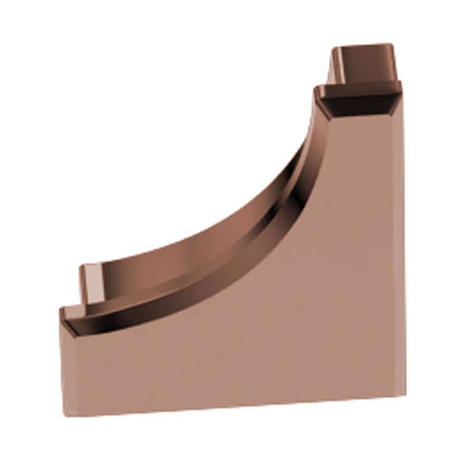 Schluter Systems Dilex-AHK 0.563-in W x 0.5-in L Aluminum Tile Edge Trim