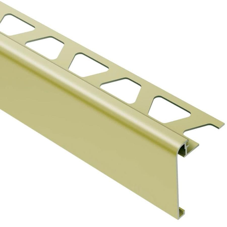 Schluter Systems Rondec-Step 0.5-in W x 98.5-in L Aluminum Tile Edge Trim