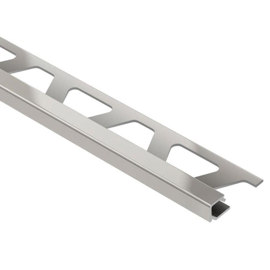 Schluter Systems Quadec 0.25-in W x 98.5-in L Aluminum Tile Edge Trim