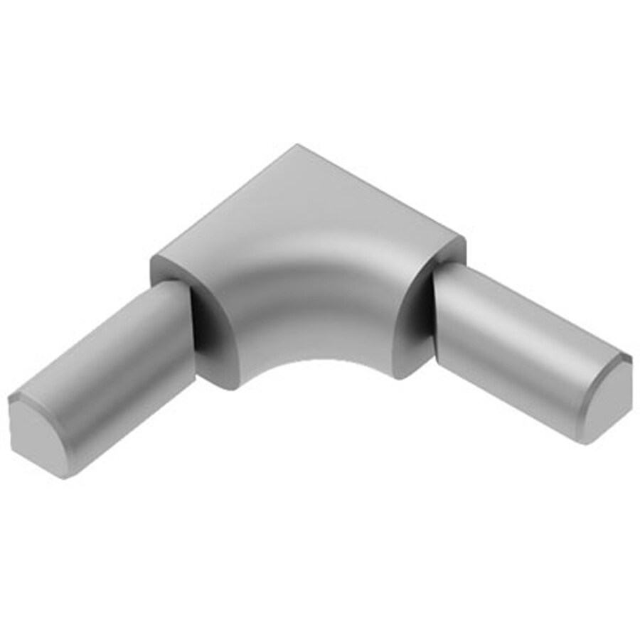 Schluter Systems 3/8-in Satin Aluminum Sink Corner Trim