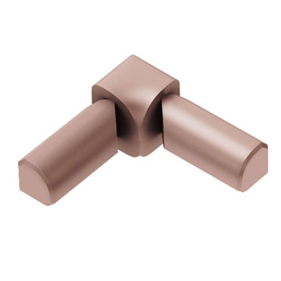 Schluter Systems Rondec 0.313-in W x 1-in L Aluminum Tile Edge Trim