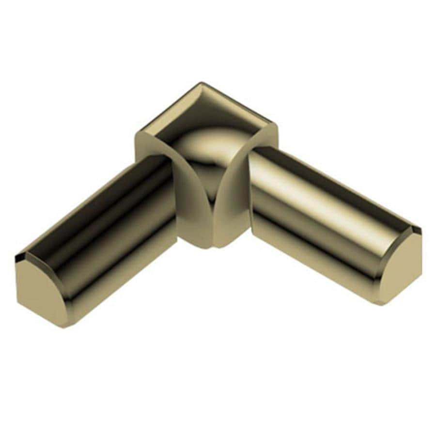 Schluter Systems 0.313-in W x 1-in L Aluminum Commercial/Residential Tile Edge Trim