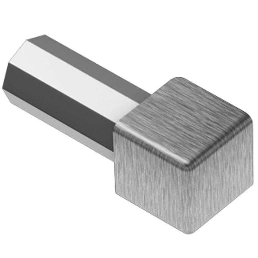 Schluter Systems Quadec 0.563-in W x 1-in L Steel Tile Edge Trim