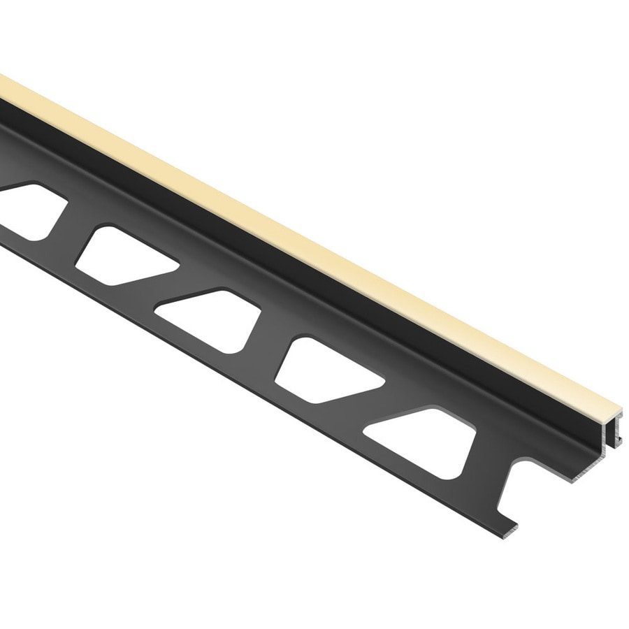 Schluter Systems Dilex-BWA 0.375-in W x 98.5-in L PVC Commercial/Residential Tile Edge Trim