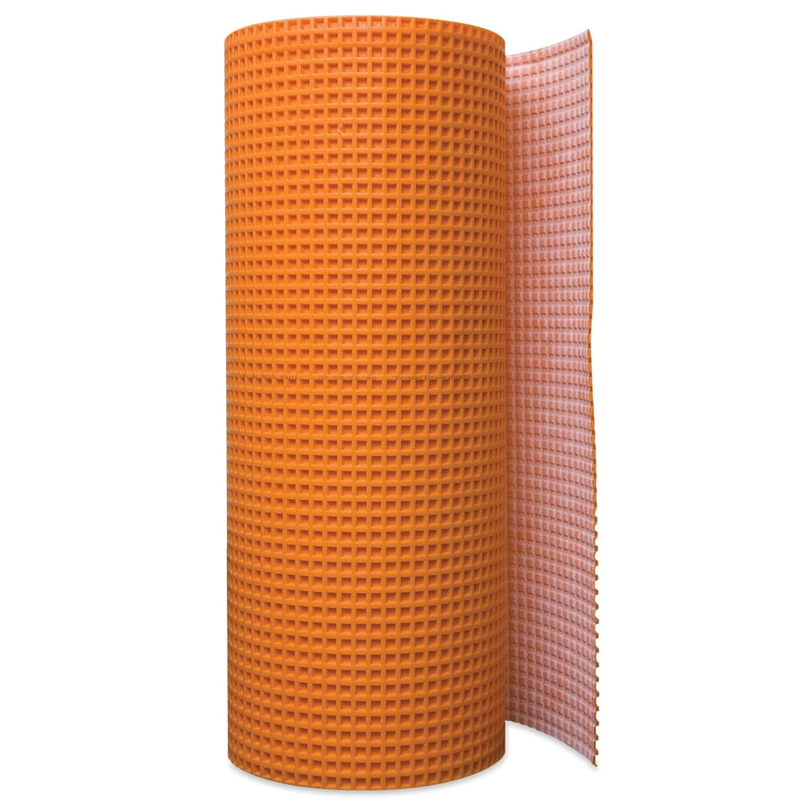 Shop Schluter Systems Ditra 175 Sq Ft Orange Plastic