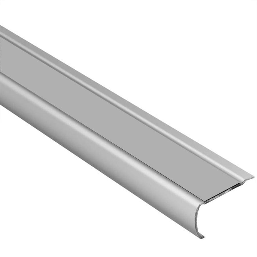 Schluter Systems Trep-GK 0.063-in W x 59-in L Steel Tile Edge Trim
