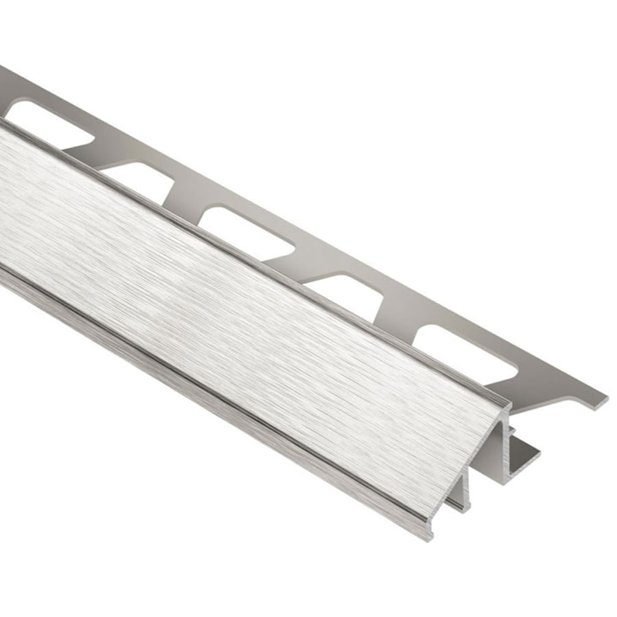 Schluter Systems Reno-U 0.5-in W x 98.5-in L Aluminum Tile Edge Trim