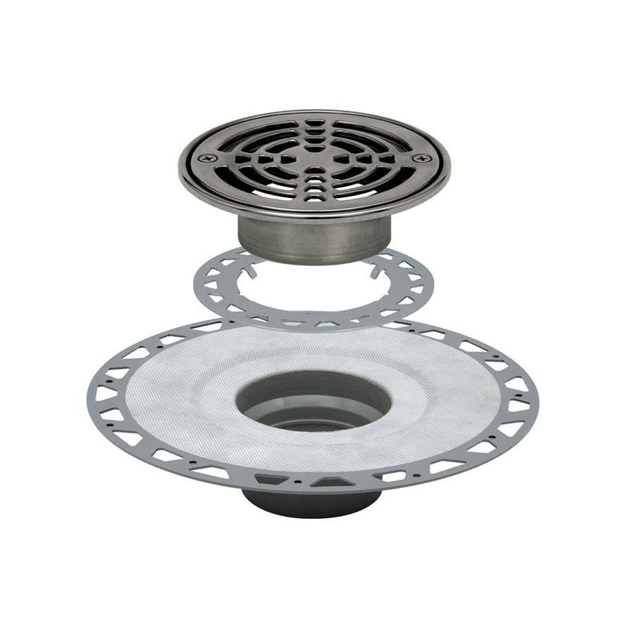 Schluter Systems Kerdi Stainless Steel Shower Drain at ...