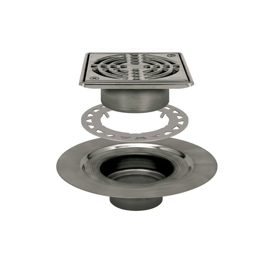 Schluter Systems Kerdi Stainless Steel Stainless Steel Shower Drain