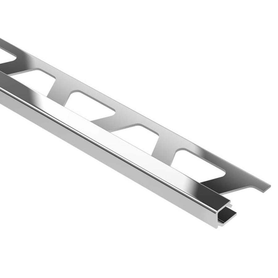 Schluter Systems Quadec 0.188-in W x 98.5-in L Aluminum Tile Edge Trim