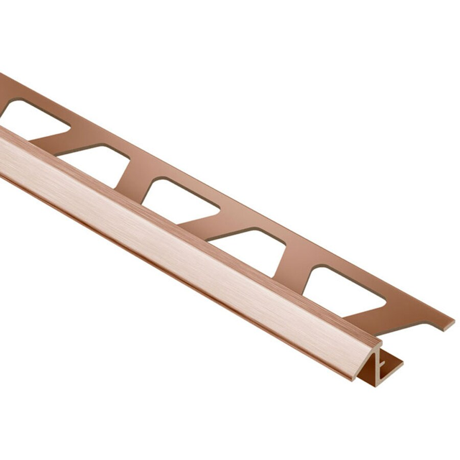 Schluter Systems Reno-TK 0.313-in W x 98.5-in L Aluminum Tile Edge Trim