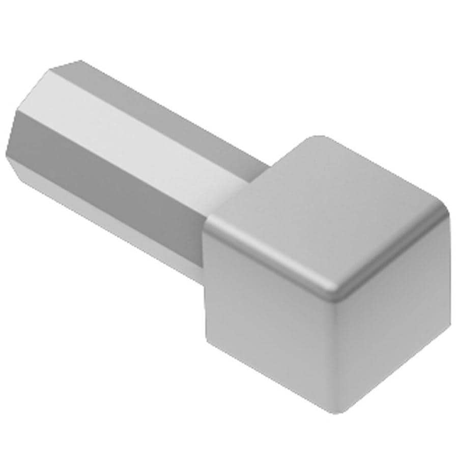 Schluter Systems 0.563-in W x 1-in L Aluminum Commercial/Residential Tile Edge Trim