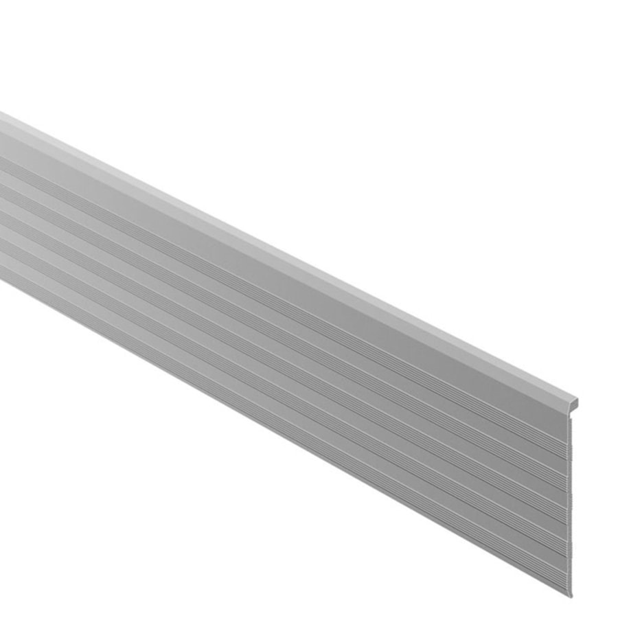 Schluter Systems 2.406-in W x 98.5-in L Aluminum Commercial/Residential Tile Edge Trim