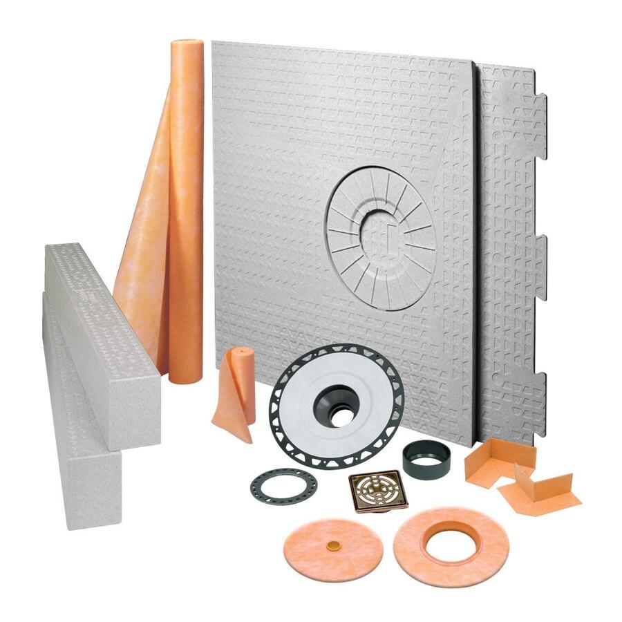 Schluter Systems Kerdi Oil Rubbed Bronze Styrene Shower Kit