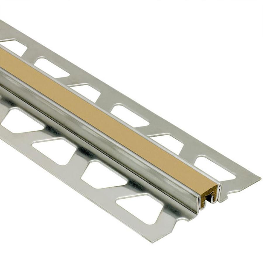 Schluter Systems Dilex-KSN 0.438-in W x 98.5-in L Steel Tile Edge Trim