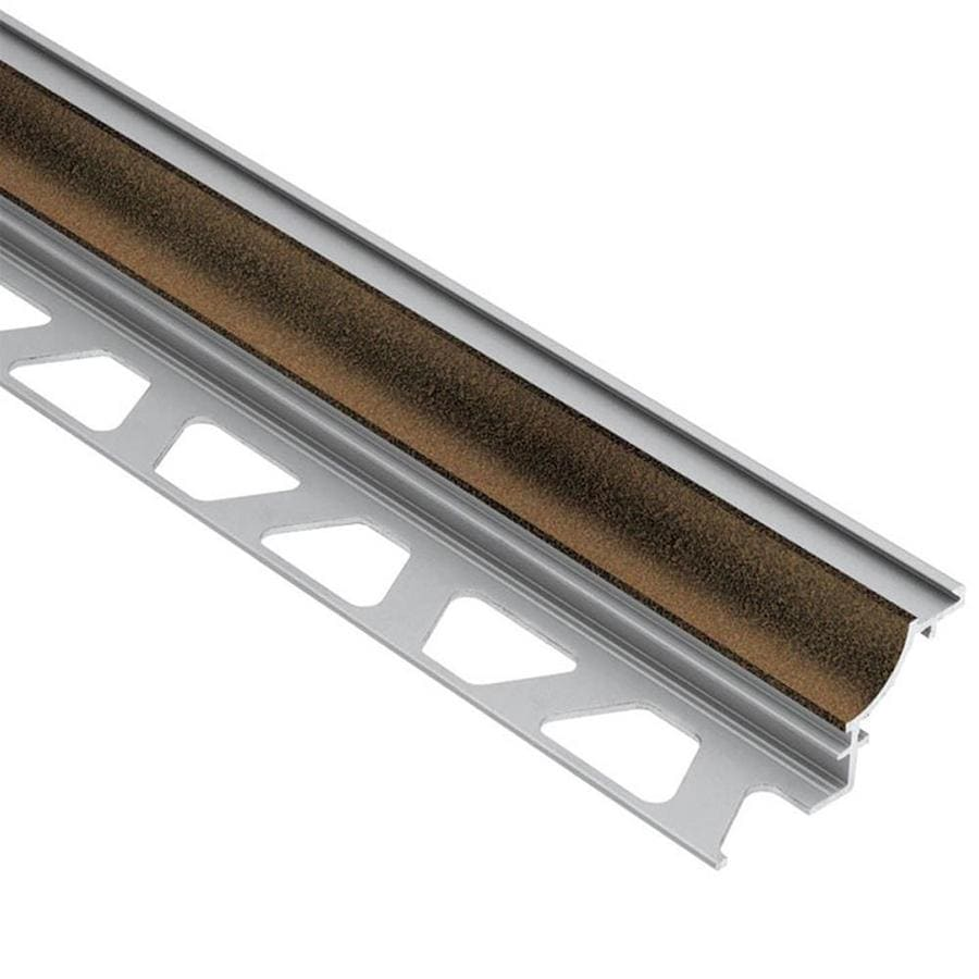 Schluter Systems Dilex-AHK 0.313-in W x 98.5-in L Aluminum Tile Edge Trim