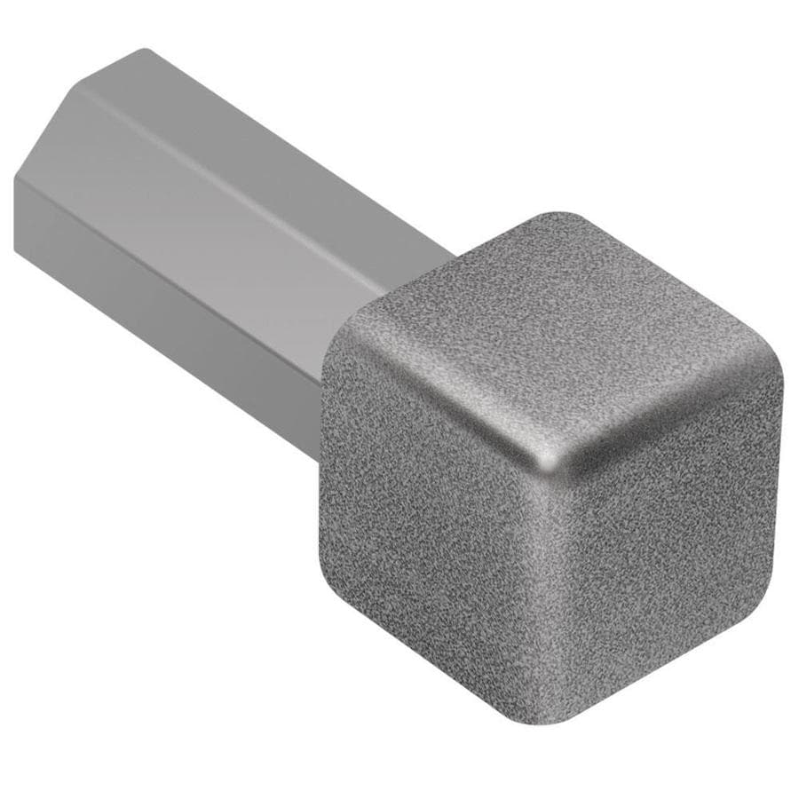 Schluter Systems Quadec 0.5-in W x 1-in L Aluminum Tile Edge Trim