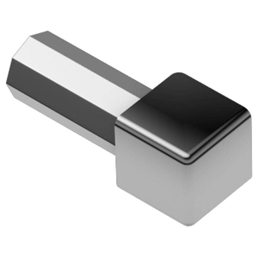 Schluter Systems Quadec 0.438-in W x 1-in L Steel Tile Edge Trim