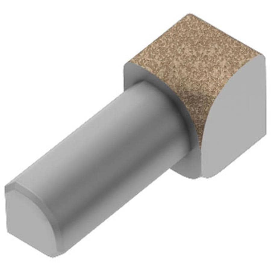 Schluter Systems Rondec 0.5-in W x 1-in L Aluminum Commercial/Residential Tile Edge Trim