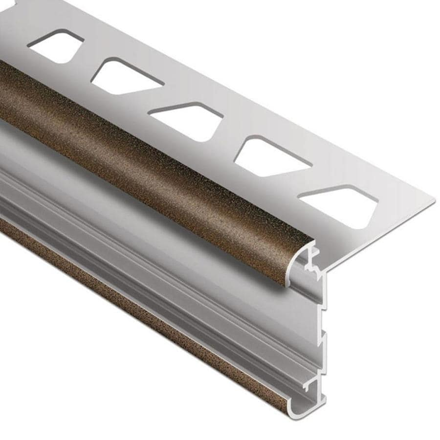 Schluter Systems Rondec-CT 0.313-in W x 98.5-in L Aluminum Commercial/Residential Tile Edge Trim